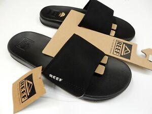 e61763d9cbdef Reef Mens One Slide Black Size 12 192824070052 | eBay