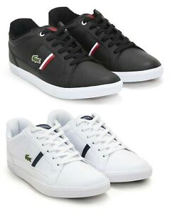 NEW-Lacoste-Men-039-s-Casual-Shoes-Europa-Series-Lace-Up-Fashion-Sneakers