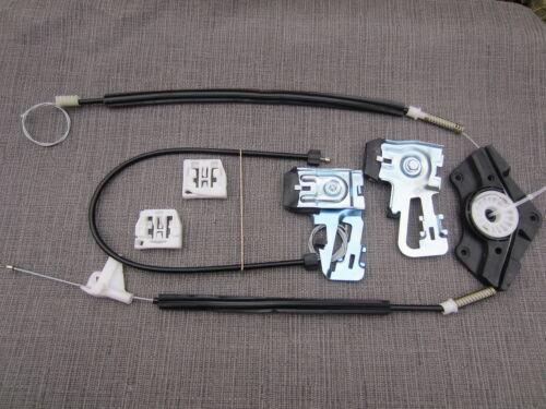 Skoda Octavia Ventana Regulador Kit de reparación de 4//5 Puerta Delantera Izquierda del Reino Unido de pasajeros NSF