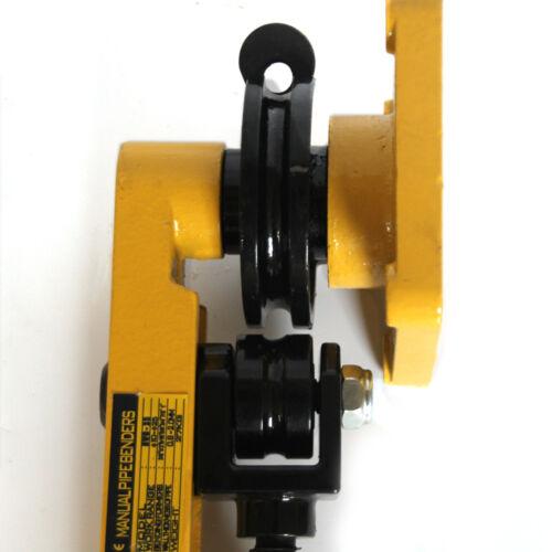 Manuelle Rohrbieger Rohrbiegegerät Handbetätigt Biegeapparat Rohrbiegemaschine