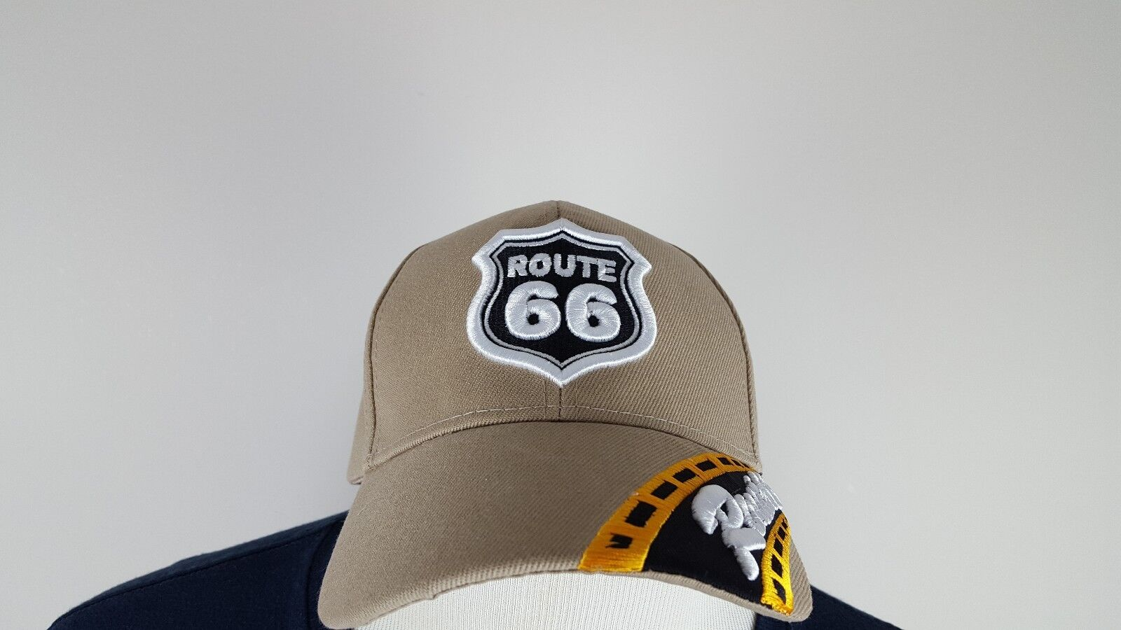 Rt Route Hat 66 Interstate Baseball Hat Route Cap Highway Adjustable 26d162