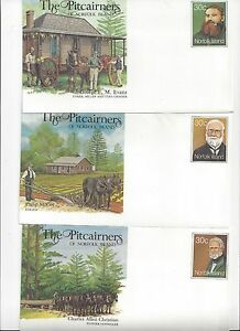 6 NORFOLK ISLAND covers ,postal stationary and FDC {lot 188}
