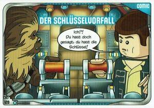 Lego-Star-Wars-Serie-2-Cartas-Coleccionables-Tarjeta-Num-120-el-Schlusselvorfall