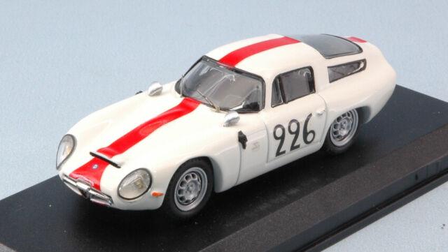 Alfa romeo tz 1 n.226 mont ventoux 1984 ramu-caccia 1:43 auto competizione scala