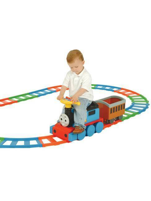 THOMAS & FRIENDS 6v RIDE ON ON ON TRAIN & TRACK SET NEW 5f8807