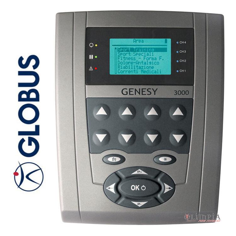 GLOBUS  Elettrostimolatore GENESY 3000  530 Progr. MCR,KOTZ,DENERVATO,IONOFOR.