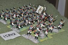 25mm napoleonic french young guard 40 figures (15802) painted by mac warren
