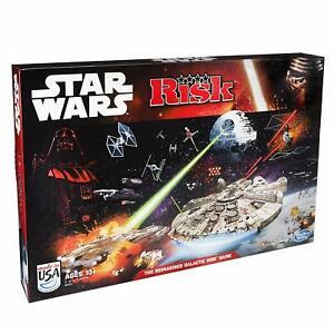 Familia-de-riesgo-de-Disney-Hasbro-Star-Wars-Juego-De-Mesa-2-4-jugadores-rebeldes-V-Imperio