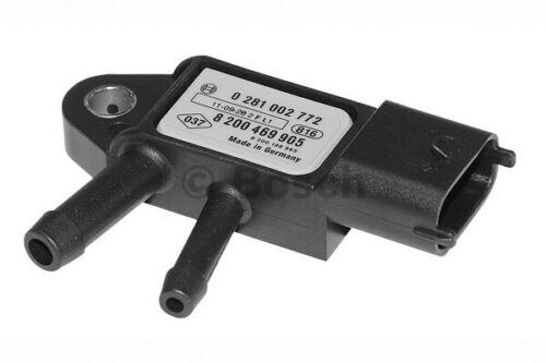 a estrenar genuino parte 0281002772 Bosch Sensor de presión Motor sensores