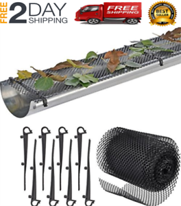Gutter Guards With 15 Clip Hooks For Easy Installation 6