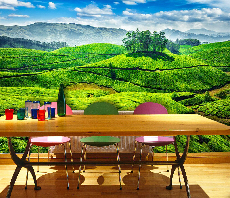 3D greener Rasen 478 Tapete Tapeten Mauer Foto Familie Tapete Wandgemälde Summer