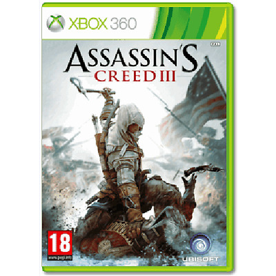 Xbox 360 - Assassins Creed III (3) **New & Sealed** Official UK Stock