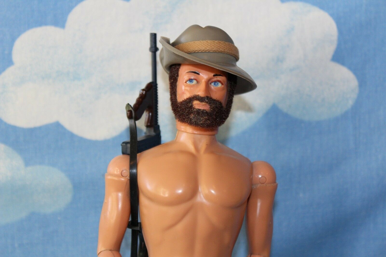 ORIGINAL VINTAGE ACTION MAN AUSTRALIAN DESERT FIGHTER CB32696