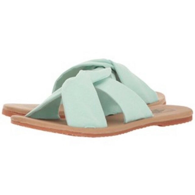 e40e0604b8a620 Ayla Slide Bay Suede VANS Sandal Slides Womens NWOB Shoes Size 8 for ...