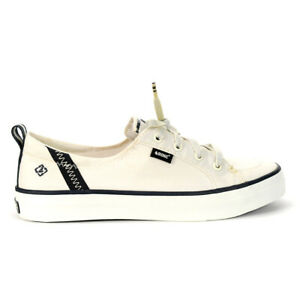 Sperry Top-Sider Women's Crest Vibe Bionic Off White Sneakers STS84567 NEW!