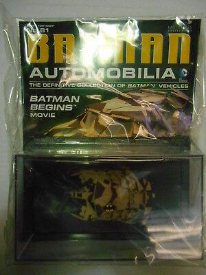 Batman Automobilia Detective Comics #456 VOITURE modèle Eaglemoss-GQ 2014