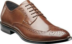 Stacy Adams Garrison Oxford Dress Shoes Mens Cognac Australia