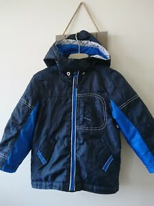 b4c2764fc mothercare boys fleece lined lightly padded jacket 2-3 years worn ...