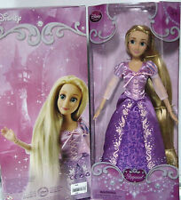 "NEW Disney Store Princess RAPUNZEL TANGLED 12"" BARBIE DOLL Long Hair Posing NIB"