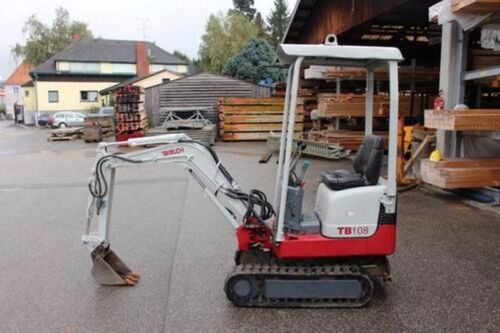 Takeuchi TB 108 Mini Excavadora piezas Manual