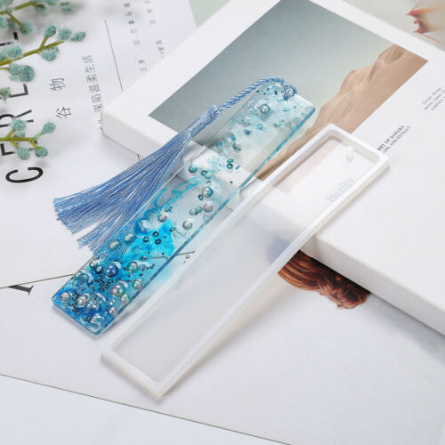 Silicone Epoxy Resin Mold Bookmark Jewelry Mould Making Tool DIY Handmade Craft