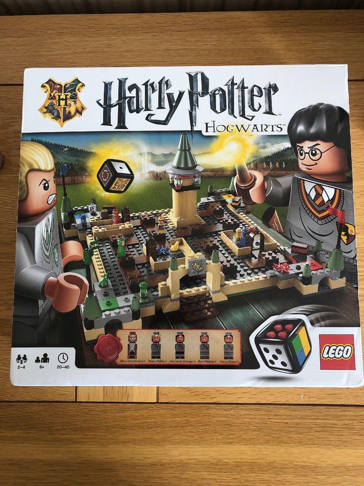 LEGO Harry Potter Hogwarts Game 3862 Released 2010 Rare New & Sealed