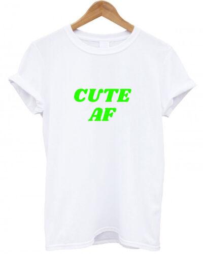 mode Tumblr Noël tendance sweet Sassy Mignon AF unique Drôle T Shirt