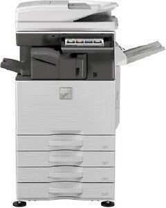 Multifunzione-a-colori-Sharp-MX-4070N-stampante-scanner-di-rete-e-fotocopiatrice