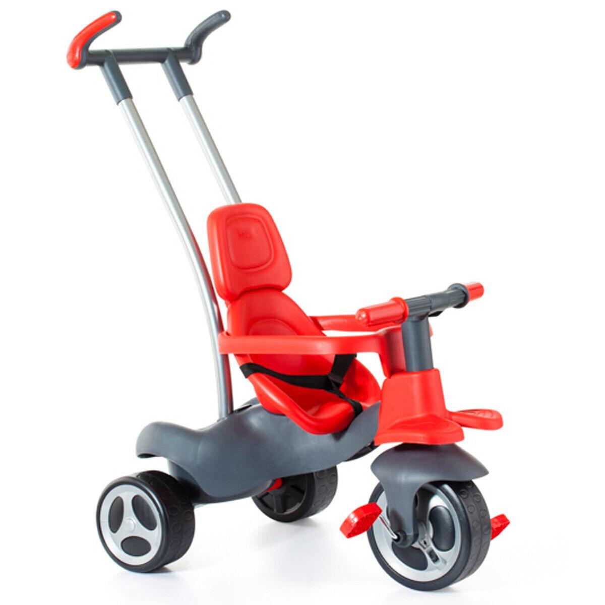Baby Dreirad ab 10 Monaten Kinderdreirad Kinderfahrzeug Kinder Fahrzeug Rutscher