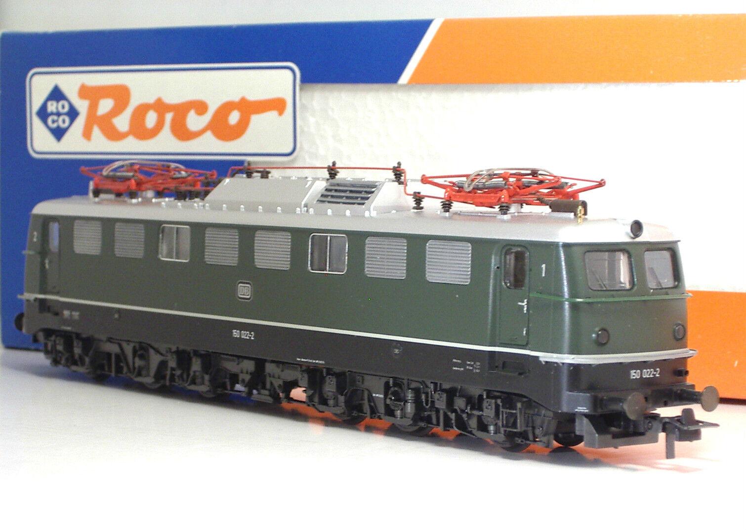 servicio de primera clase ROCO 43585 DB DB DB 150 022-2 Ellok  Ep IV  lo último