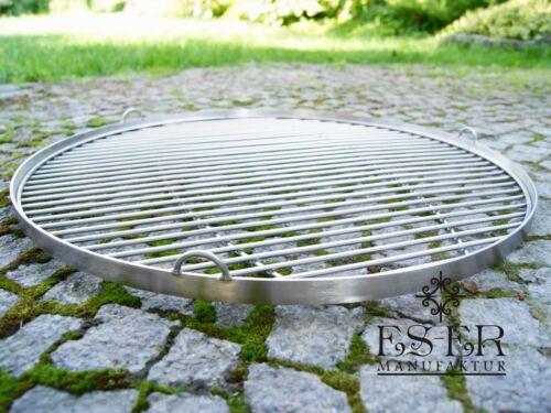Edelstahl Grillrost für Schwenkgrill Handwerk und Qualität rund 60 cm