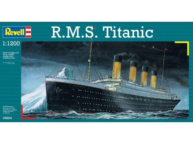 Revell - R.M.S. Titanic - 1:1200