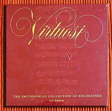 VARIOUS - VIRTUOSI  THE SMITHSONIAN COLLECTION OF RECORDINGS 7LP BOX SET SEALED