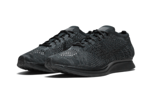 029da658a32a Nike Flyknit Racer Running Shoes Black 526628-009 Size Mens 6.5 ...