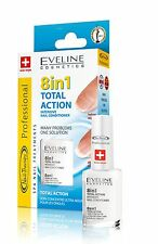 Intensive Nail Strengthener Conditioner EVELINE 8 in 1 TOTAL ACTION Best Quality