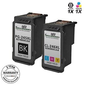 2pk-PG-245XL-Black-amp-CL-246XL-Color-Ink-for-Canon-PIXMA-iP2820-MG2420-MX492
