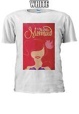 Disney Princess Ariel Little Mermaid T-shirt Vest Tank Top Men Women Unisex 137