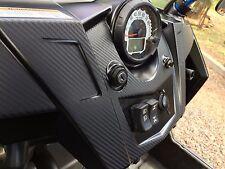 Carbon Fiber Finish Dash Kit : fits Polaris RZR 570 800 900