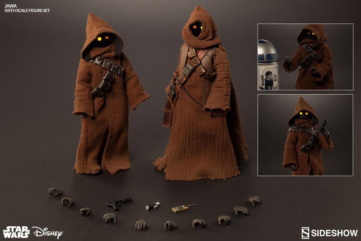 Star Wars: Jawa Sixth Scale Figure Set Sideshow  STOCK