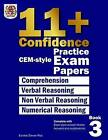 11+ Confidence: Cem-Style Practice Exam Papers Book 3: Complete with Answers and Full Explanations by Eureka! Eleven Plus Exams (Paperback / softback, 2015)