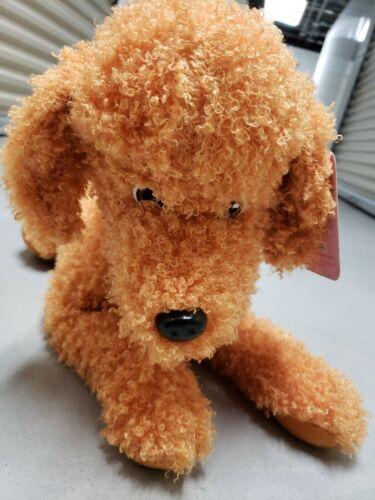 """NEW with tag Disney Junior Fancy Nancy Frenchy Giant 20/"""" Stuffed Toy Dog"""