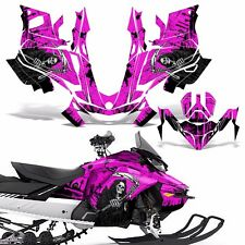 Ski-Doo 850 Renegade Summit Decal Graphic Kit Sled G4 Snowmobile Wrap REAP PINK