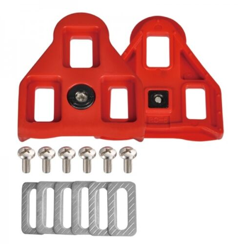 VH88 Wellgo RC-5 Cleat Set 9 Degree for LOOK ARC system Red