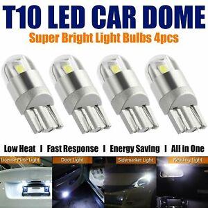 4X-T10-Bulbs-W5W-501-Canbus-Lights-LED-COB-SMD-3030-Bright-White-Car