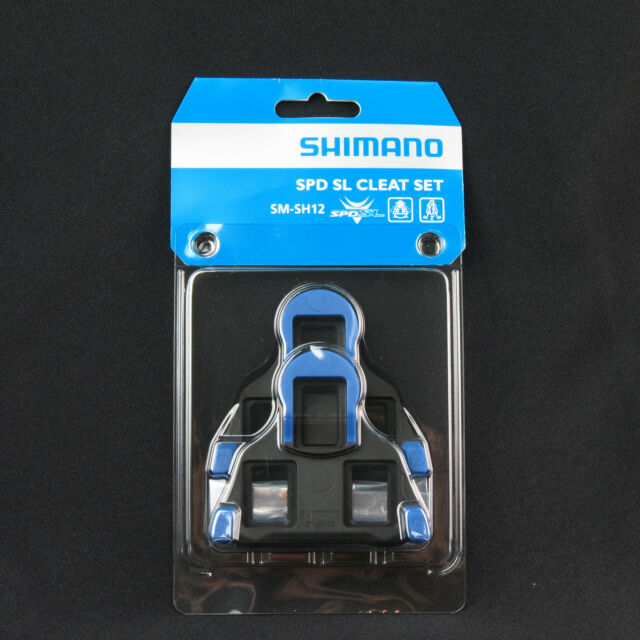 84ee5481fcc4 SHIMANO SPD SL SM-SH12 Two Degree Road Bike Pedal Fixed Mode Cleat Set -