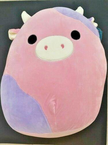 Kellytoy Squishmallow Patty The Cow 16 inch Stuffed Animal Soft Plush RARE NWT