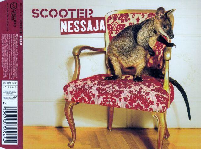SCOOTER : NESSAJA / CD - TOP-ZUSTAND