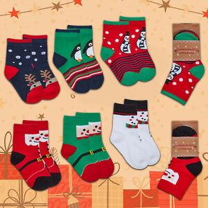 3,6 PAIRS CHRISTMAS SOCKS BOYS SOCKS GIRLS SOCKS XMAS SOCKS PATTERN DESIGN SOCKS