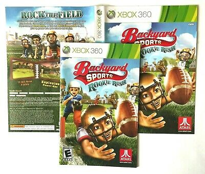 (MANUAL AND ARTWORK ONLY)(NO GAME)XBOX 360 - Backyard ...