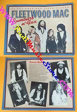 BOOK LIBRO FLEETWOOD MAC Rumours n fax Roy Carr Steve Clarke HARMONY no cd lp